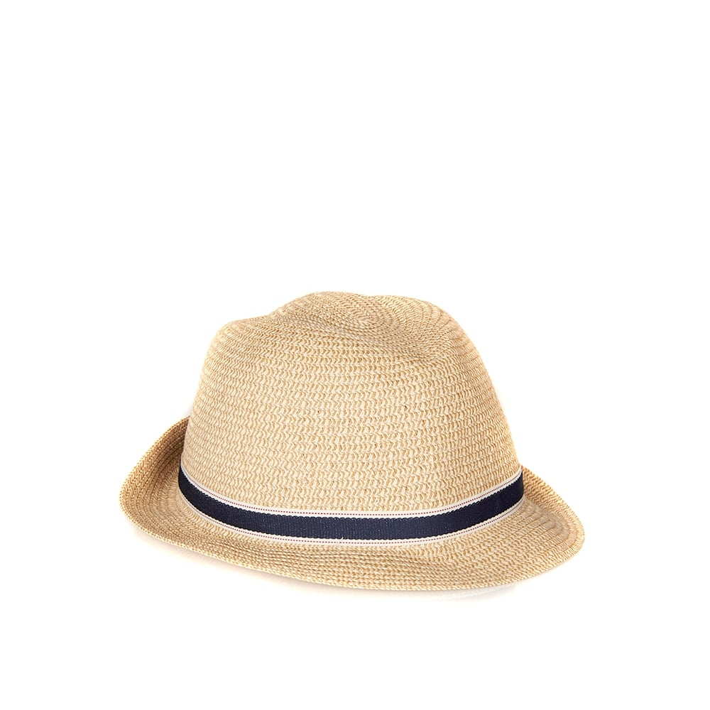 Barbour Womens Lagoon Trilby Hat Dark Natural
