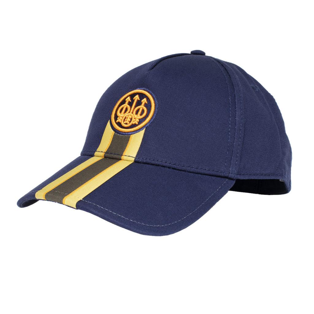 Beretta Corporate Striped Cap Blue Total Eclipse