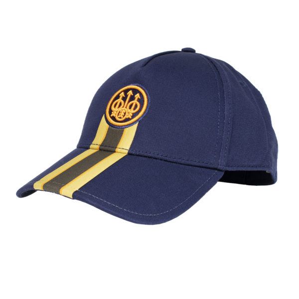 Beretta Corporate Striped Cap Blue Total Eclipse