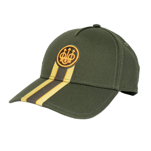 Beretta Corporate Striped Cap Green