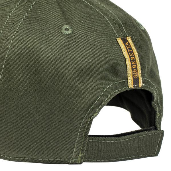 Beretta Corporate Striped Cap Green