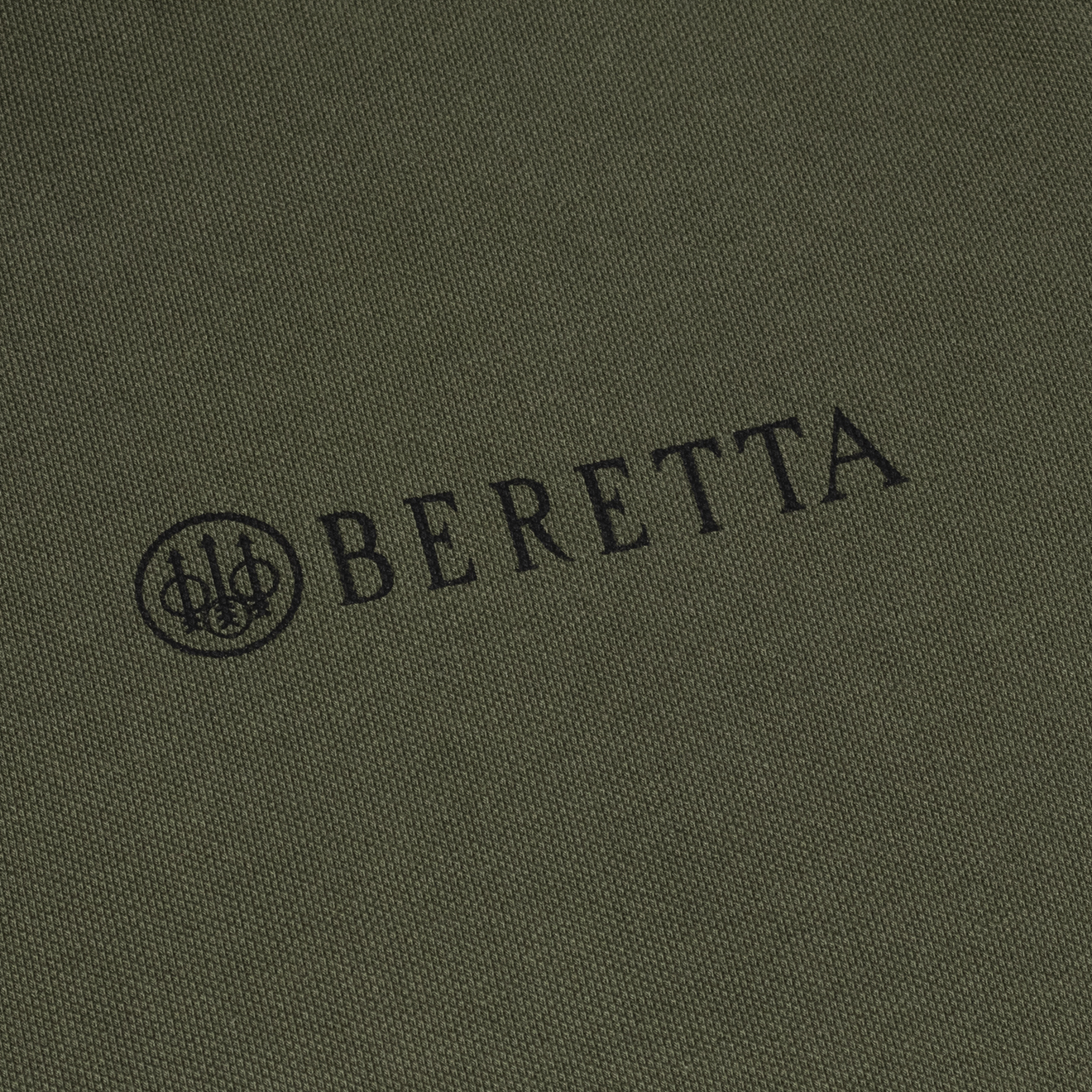 Beretta Corporate Striped Polo Grey Melange