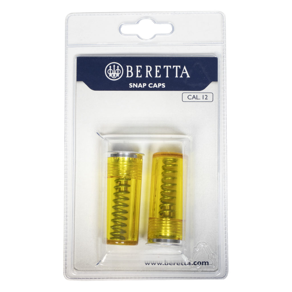 Beretta Shotgun Snap Caps 12g Yellow