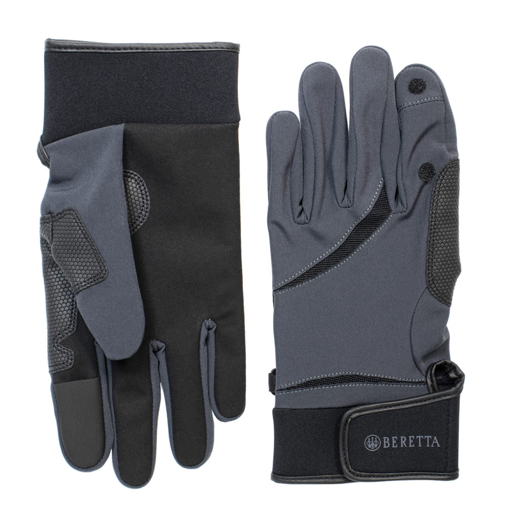 Beretta Wind Pro Shooting Gloves Black / Grey
