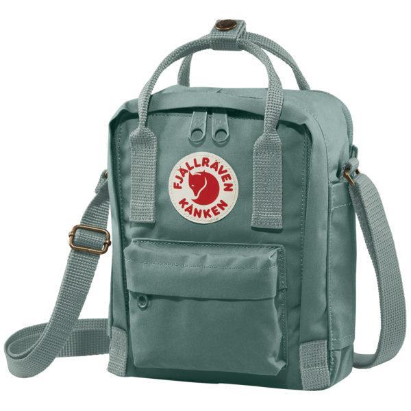 Fjallraven Kanken Sling Cross Body Bag Frost Green