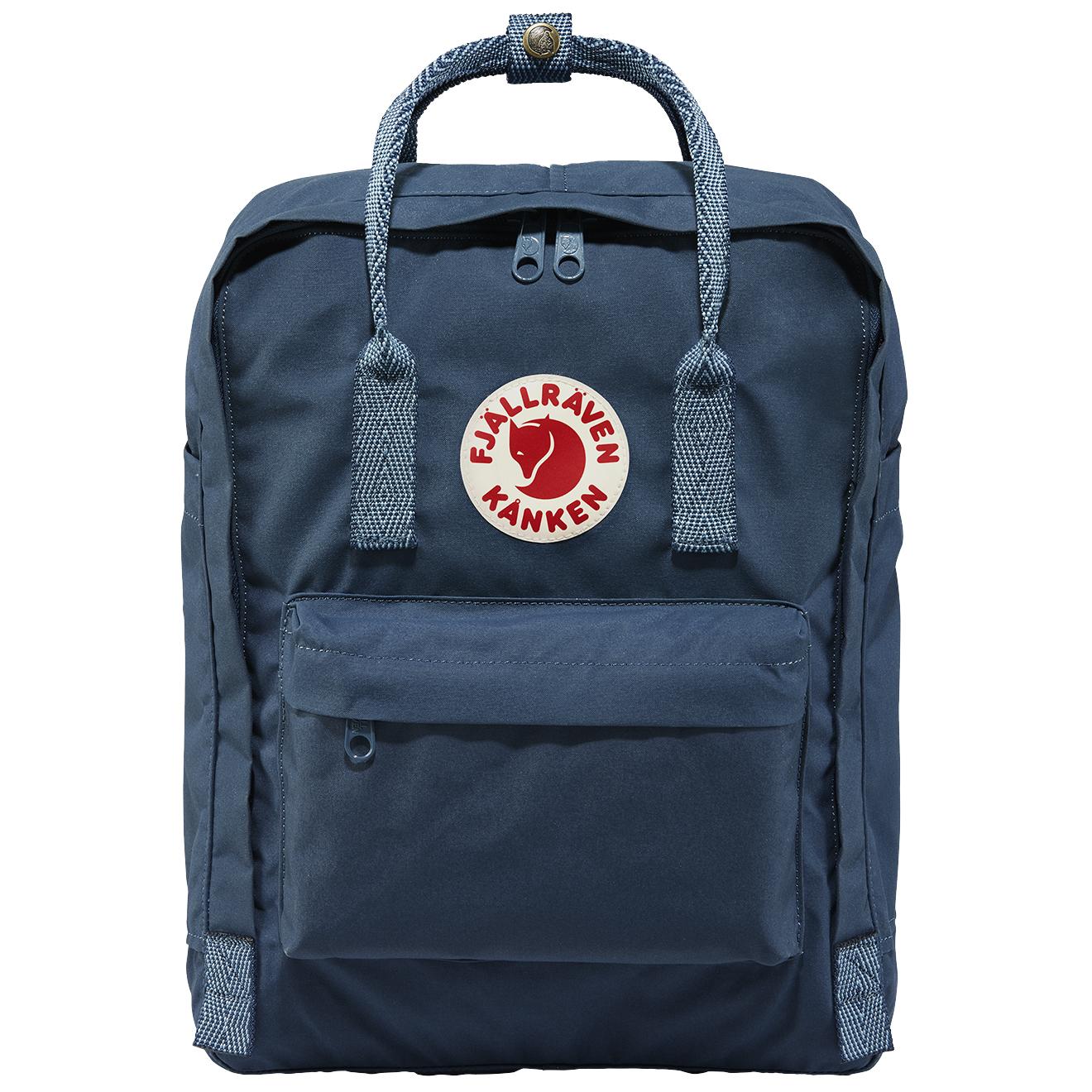 1888c583c Fjallraven Kanken Classic Backpack Royal Blue / Goose Eye - The ...