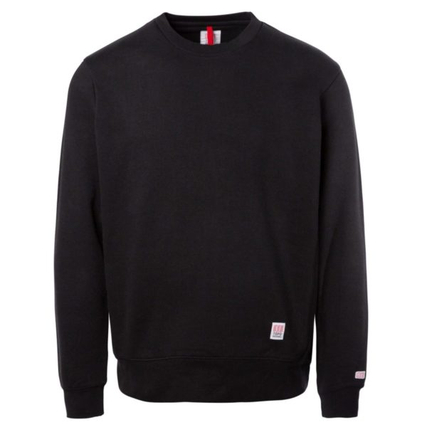 Topo Designs Classic Crew Sweat Black