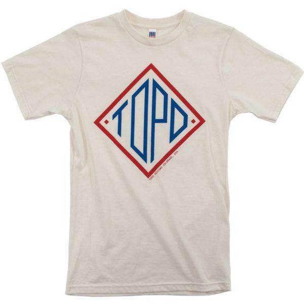 Topo Designs Diamond T-Shirt U Natural