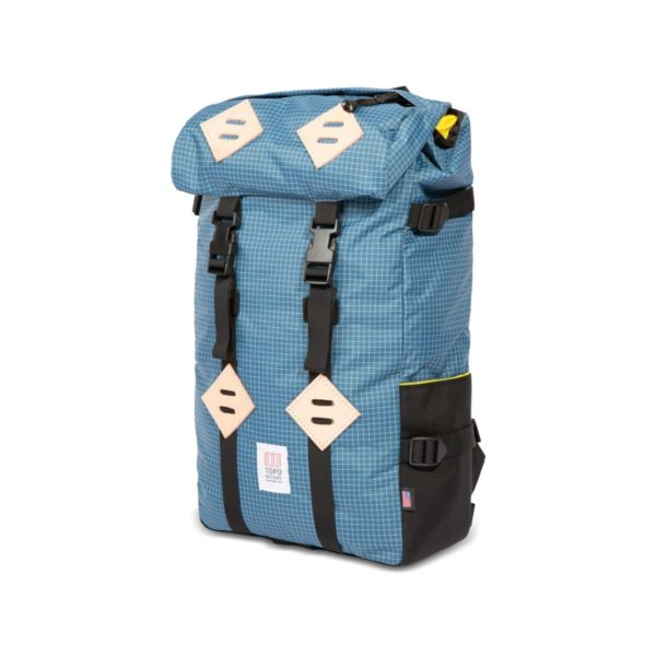 Topo Designs Klettersack Backpack Blue / White Ripstop
