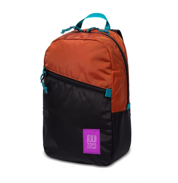 Topo Designs Light Pack Backpack Clay / Black