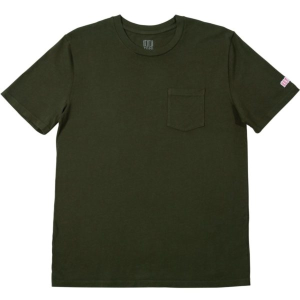 Topo Designs Pocket T-Shirt U Olive