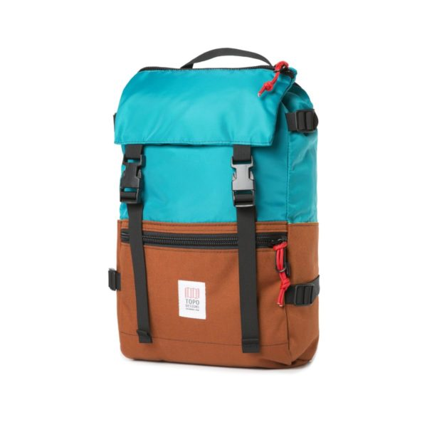 Topo Designs Rover Pack Backpack Turquoise / Clay