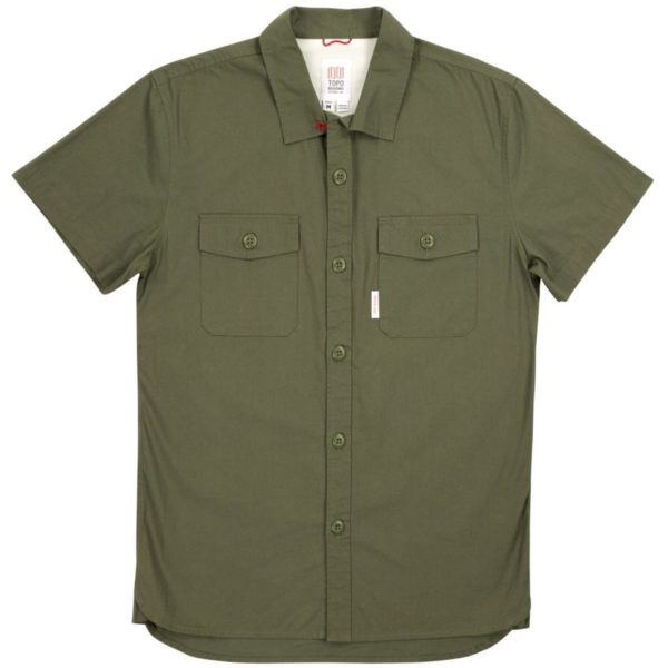 Topo Designs SS Field Shirt Olive