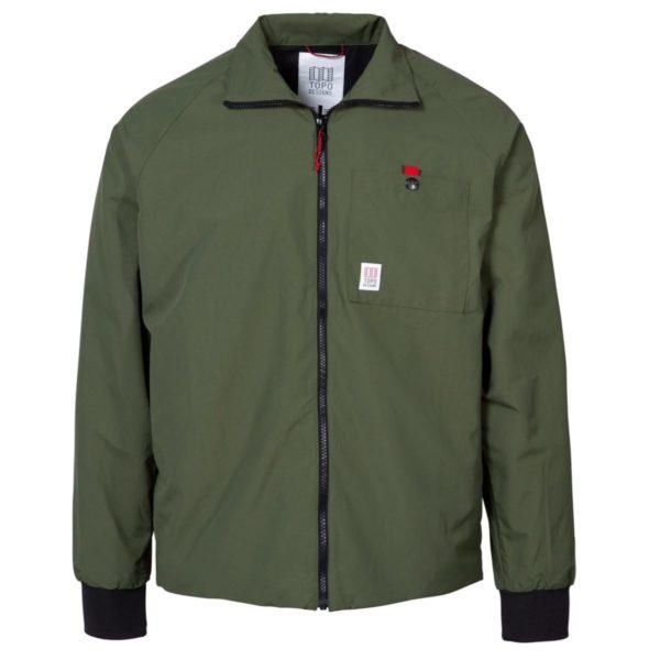 Topo Designs Wind Jacket Olive