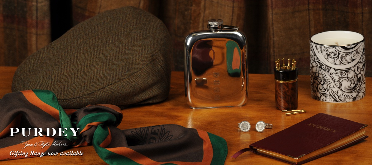 James Purdey Gifts at the Sporting Lodge