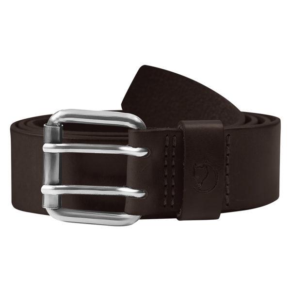 Fjallraven Singi Two-Pin Belt Leather Brown