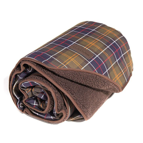 Barbour Dog Blanket Large Classic / Brown