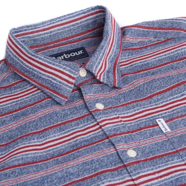 Barbour Lyde Shirt Crimson