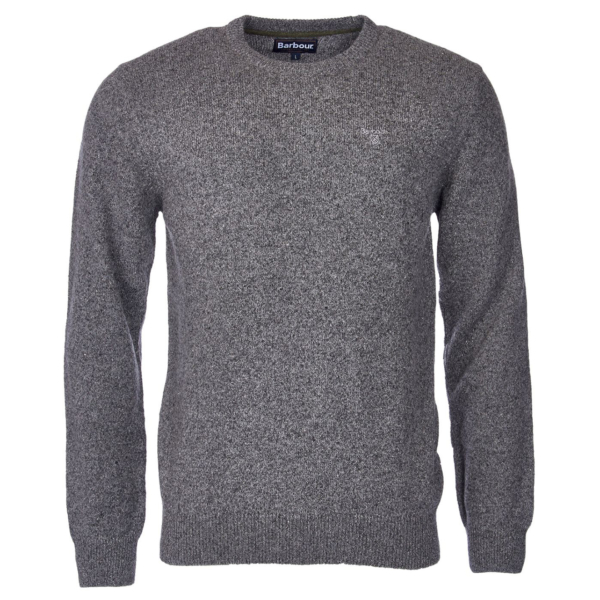 Barbour Tisbury Crew Neck Sweater Grey