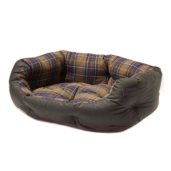 "Barbour Wax / Cot Bed 30"" Classic Tartan"