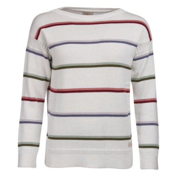 Barbour Womens Wetherlam Knit Off White