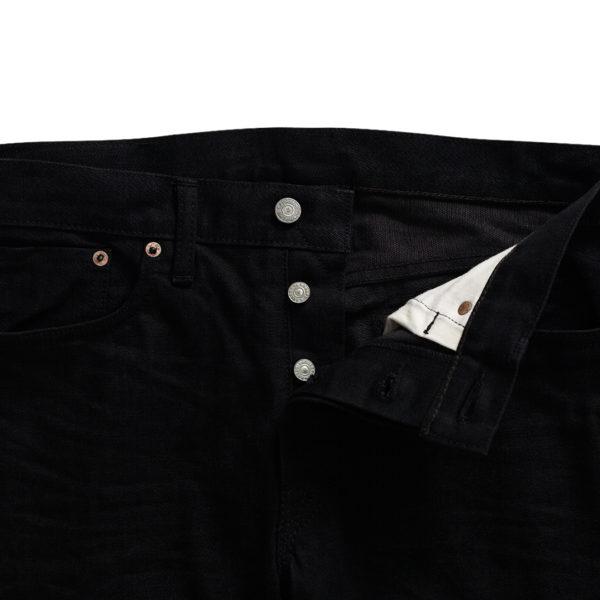 uble RL Slim Fit Selvedge Jean New Black on Black