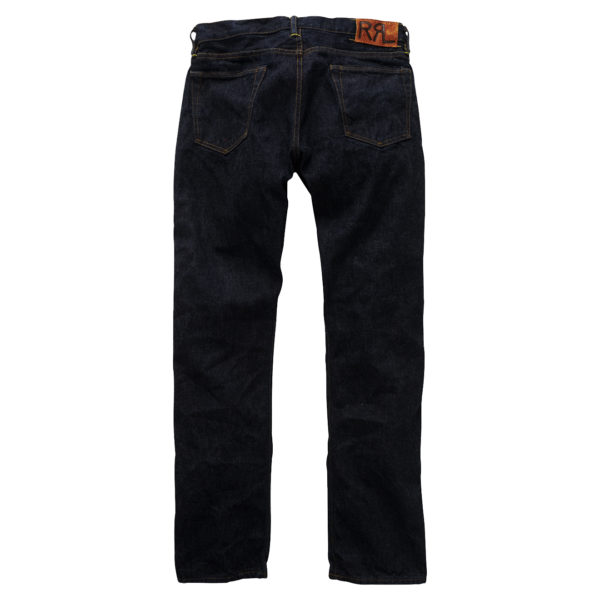 Double RL Slim Fit Selvedge Jean Once Washed