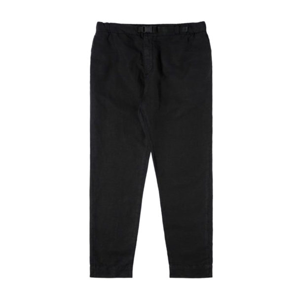 Edwin 25 Light Canvas Linen Chino Black