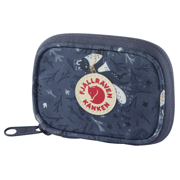 Fjallraven Kanken Art Card Wallet Blue Fable