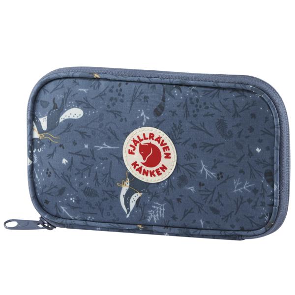 Fjallraven Kanken Art Travel Wallet Blue Fable