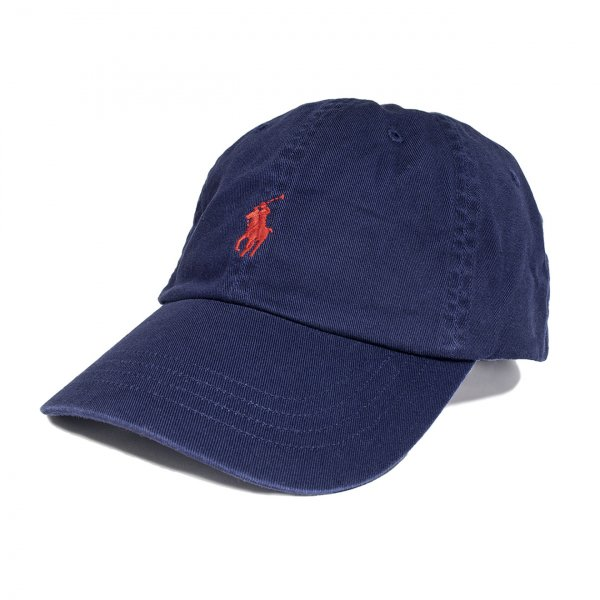 Polo Ralph Lauren Classic Cotton Chino Baseball Cap Navy