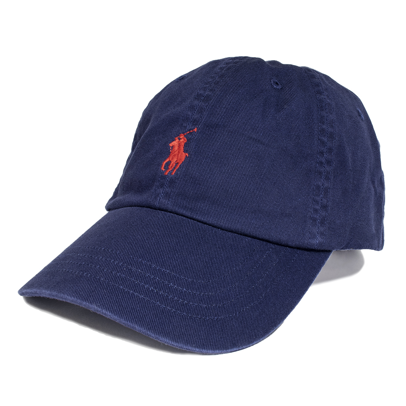 30e5383440af0 Polo Ralph Lauren Classic Cotton Chino Baseball Cap Navy - The ...