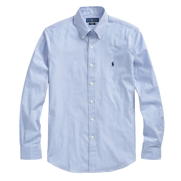 Polo Ralph Lauren Classic Fit Striped Shirt Blue / White