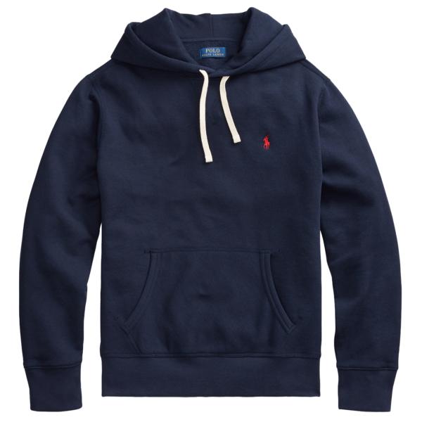 Polo Ralph Lauren Cotton Blend Fleece Hoodie Navy