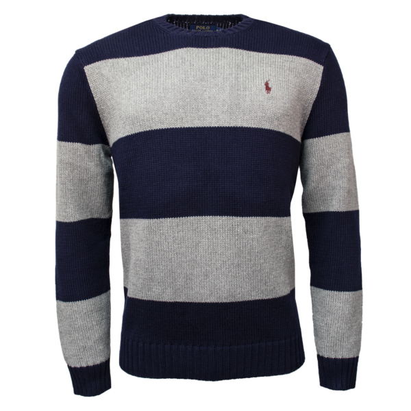 Polo Ralph Lauren Crew Neck Striped Knit