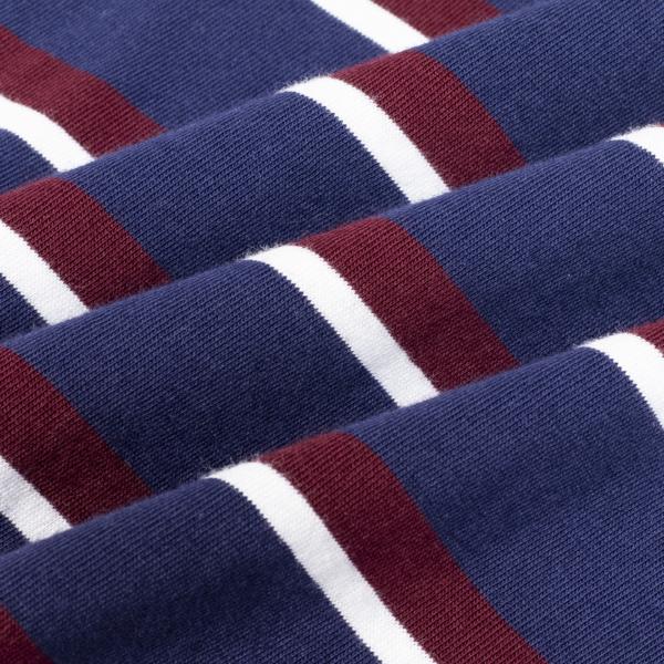 Polo Ralph Lauren Crew Stripe SS T-Shirt Navy Multi