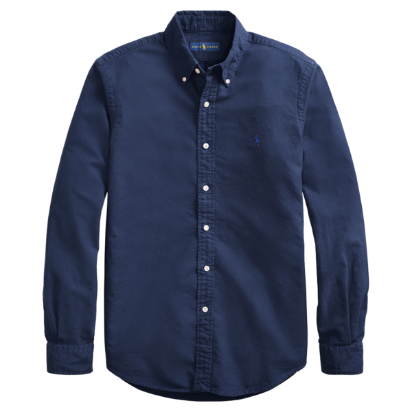 Polo Ralph Lauren Custom Fit Oxford Shirt Navy