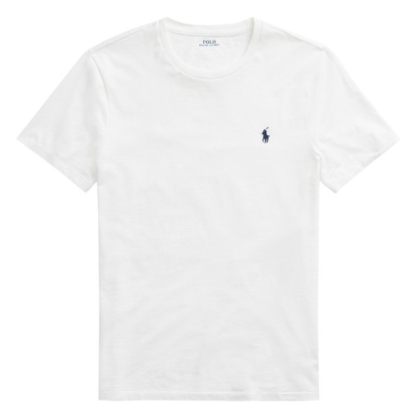 Polo Ralph Lauren Custom Slim Fit Cotton T-Shirt White
