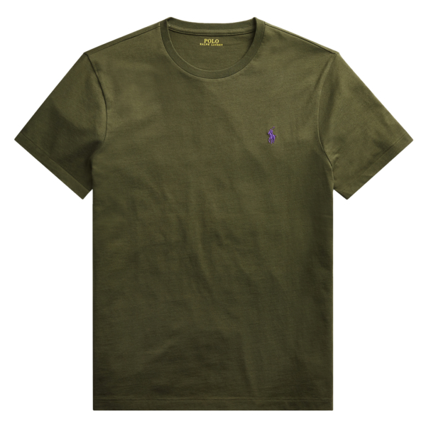 Polo Ralph Lauren Custom Slim Fit Cotton T-Shirt Estate Olive