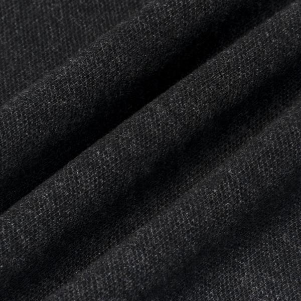 Polo Ralph Lauren Custom Slim Fit LS Mesh Polo Black Marl Heather