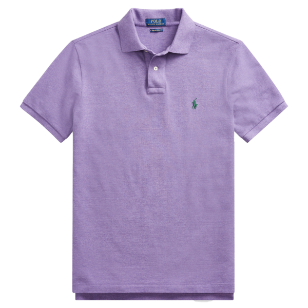 Polo Ralph Lauren Custom Slim Fit Mesh Safari Purple Heather