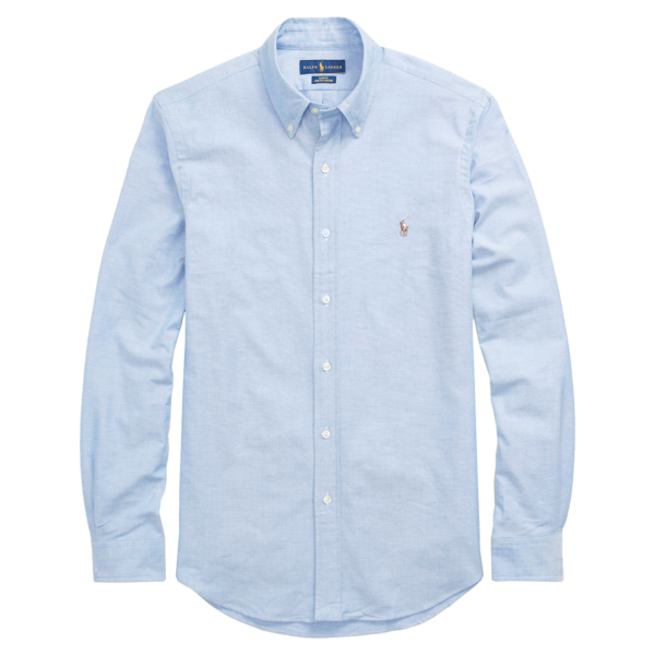 Polo Ralph Lauren Slim Fit Oxford Shirt BSR Blue