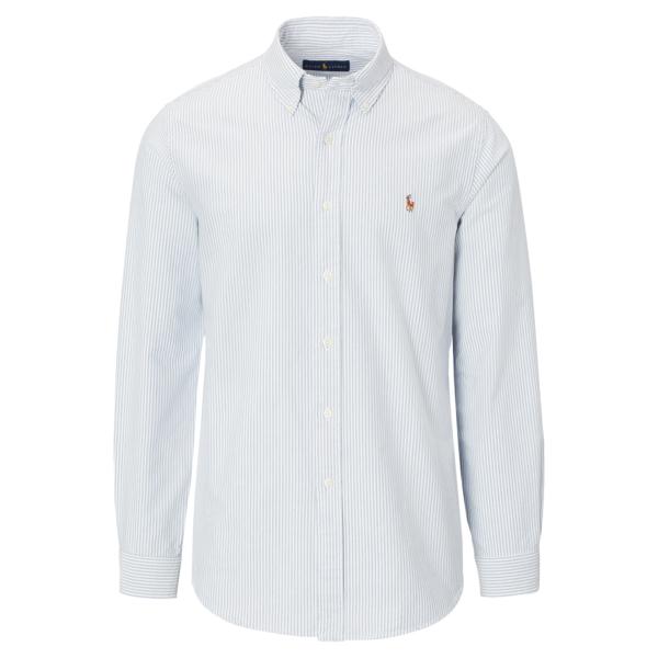 Polo Ralph Lauren Slim Fit Oxford Shirt BSR Blue / White