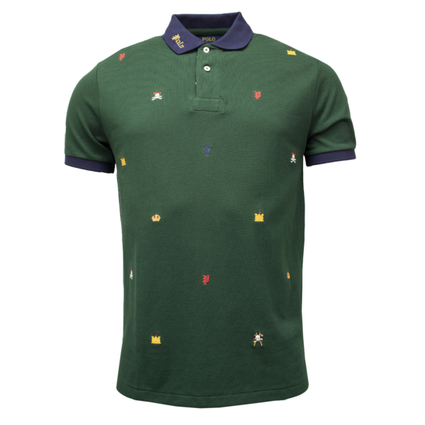 Polo Ralph Lauren Stitch Badge Polo Green