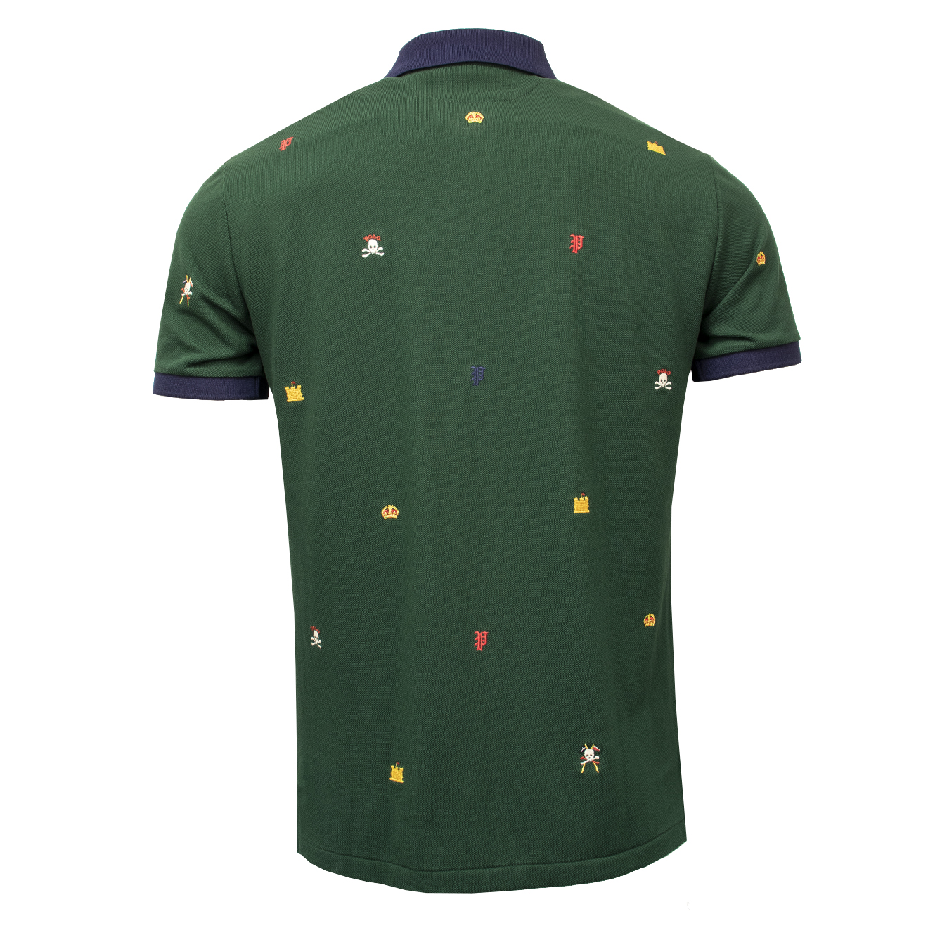 Polo The Ralph Sporting Stitch Green Lauren Badge Lodge Yb6fy7gv