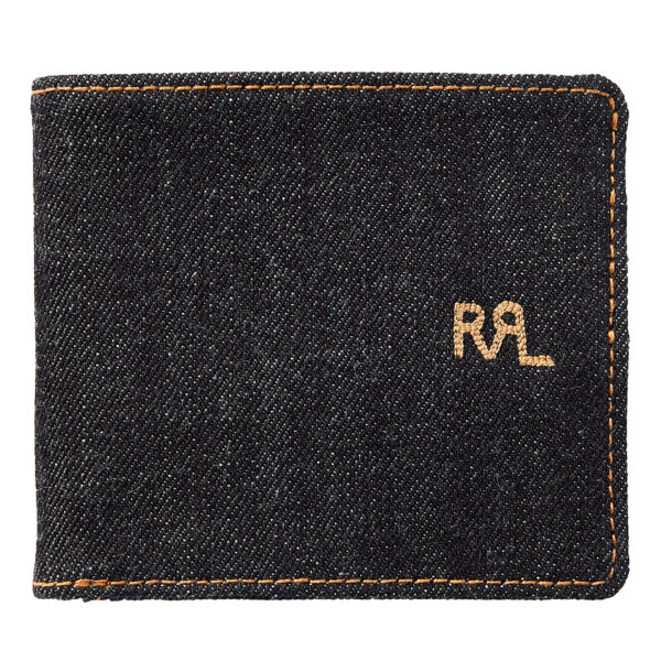 Double RL Billfold Wallet Cotton Indigo