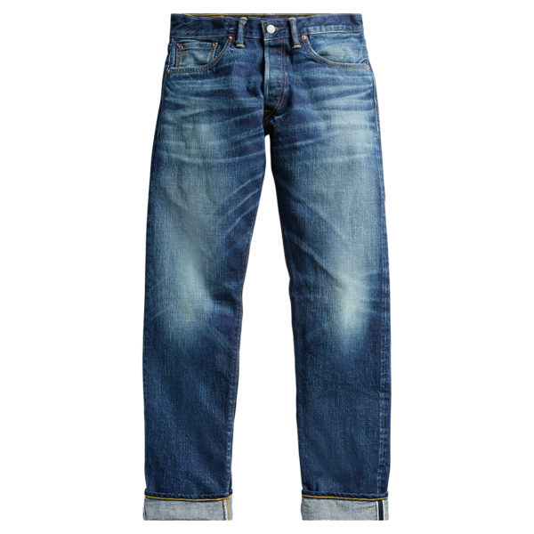 Double RL Low Straight 5 Pocket Denim Milwaukee Denim