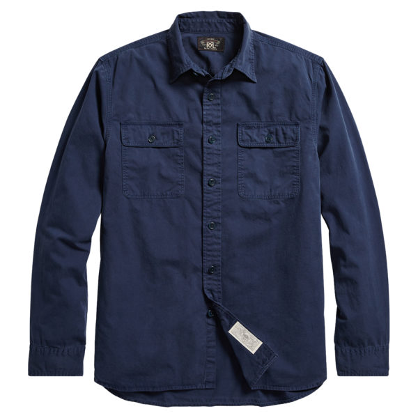 Double RL Matlock LS Shirt Navy