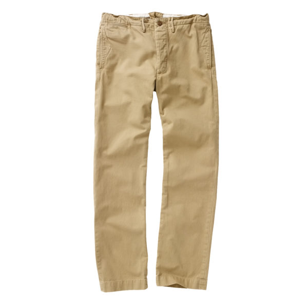 Double RL Officers Flat Pant Chino New Military Khaki