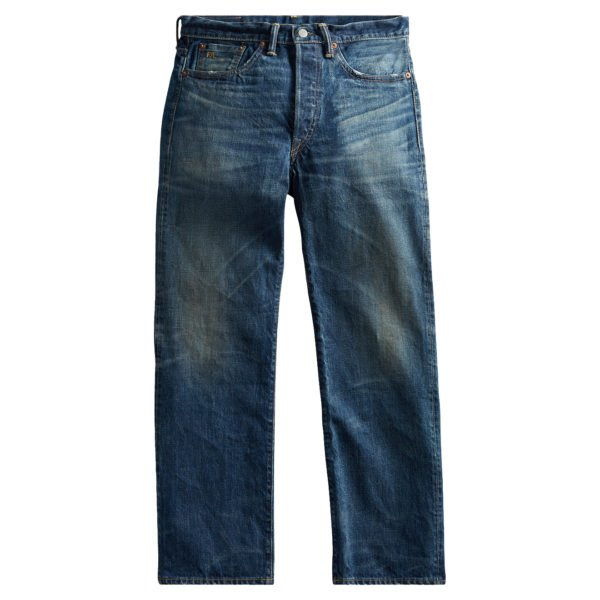 Double RL Vintage Selvedge 5 Pocket Denim Grand Falls Wash